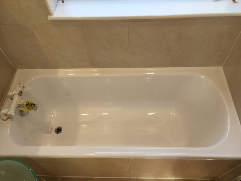 Acrylic Bath Repair from MendaBath UK